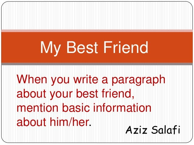 Write a Short Essay on Friendship