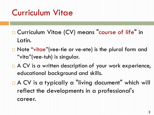How to write professional cv