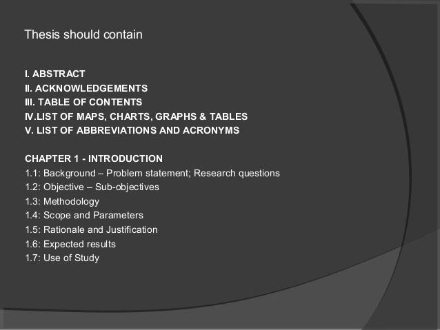 writing a methodology for dissertation