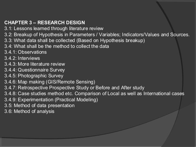 Dissertation help literature review design