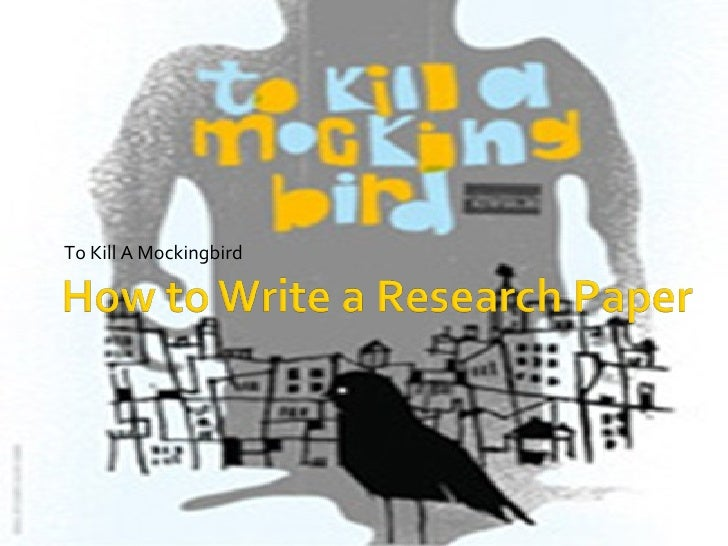steps how to write a research paper