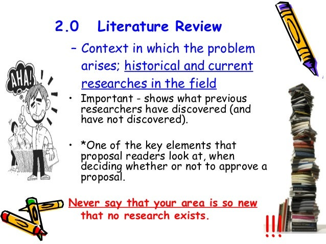 writing a literature review in social sciences