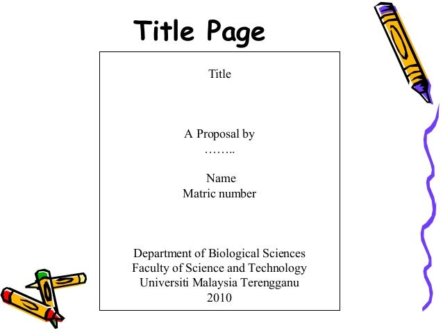 Term Paper Cover Page Template