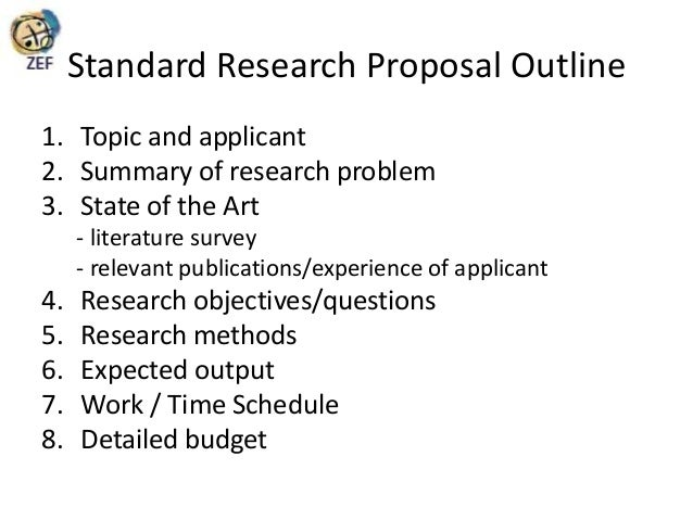Topic for research proposal