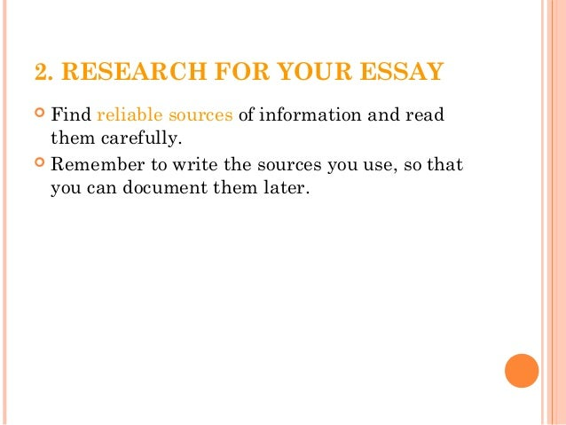 Marine Biology how to write science essays