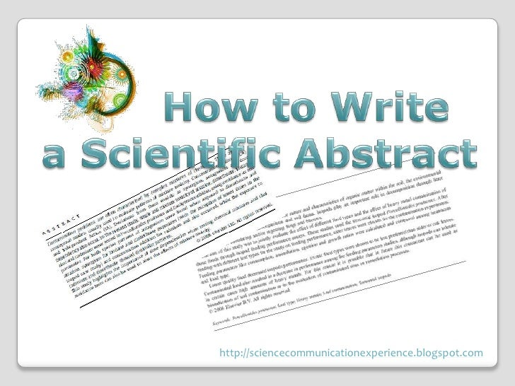 Sample Abstract Writing Examples