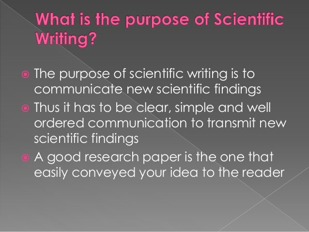 How to Write an Introduction - Introducing the Research Paper