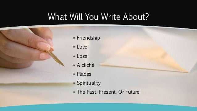 What to write?