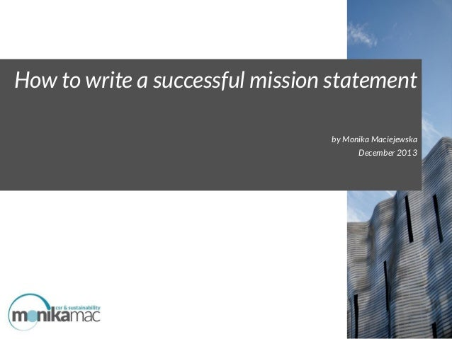 What Are Some Good Examples of Personal Mission Statements?