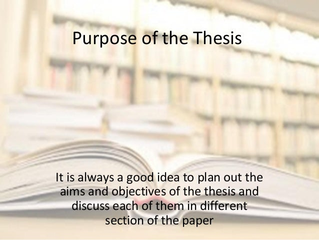 Is this a good thesis? Or not?