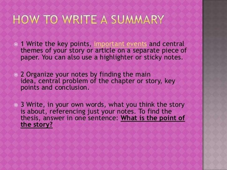 Essay Formulas