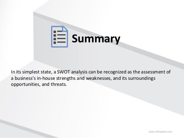 How to write analysis report