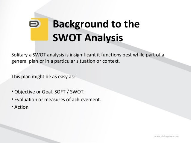 how to write a swot Don't know what a swot analysis is this post explains the whole swot  process, and even gives you templates and 3 helpful examples you can copy.