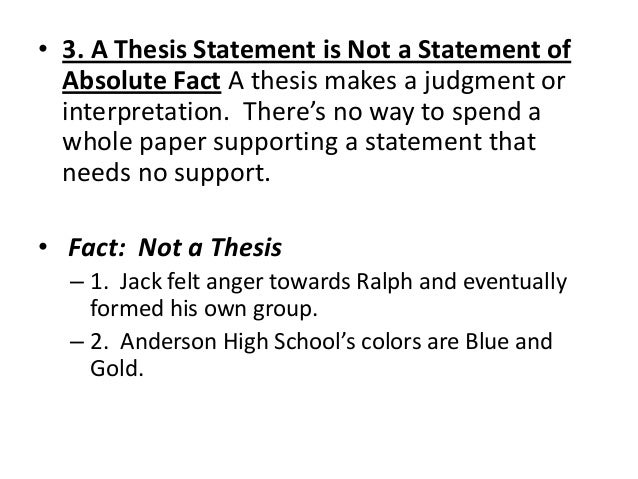 Harvard writing center thesis statement