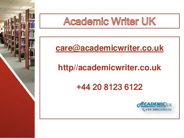 becoming an academic writer Writer at all, that you probably lack taste, judgment, imagination, and every trace of the special abilities necessary to turn yourself from an aspirant into an artist, or even into a passable craftsman.