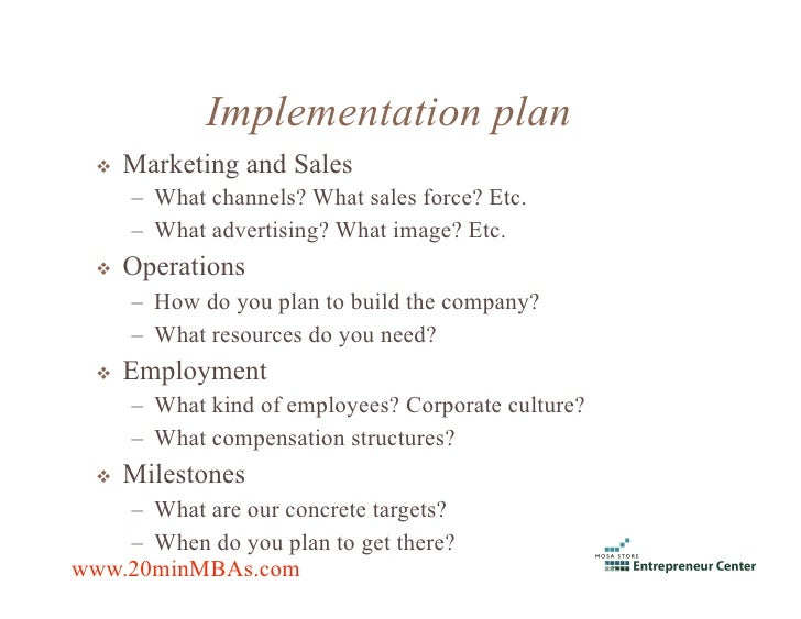 Advertising company business plan