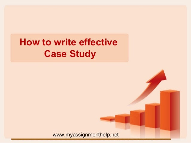 Help writting case studies