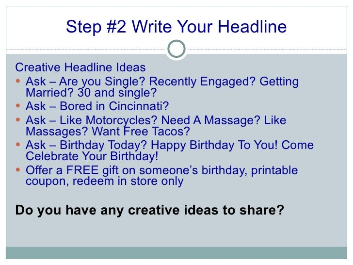 creative ways to write an essay