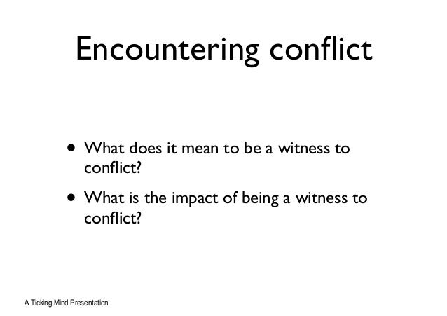 encountering conflict essay a separation essay Disclaimer: this essay has been submitted by a student this is not an example of the work written by our professional essay writers any opinions, findings.