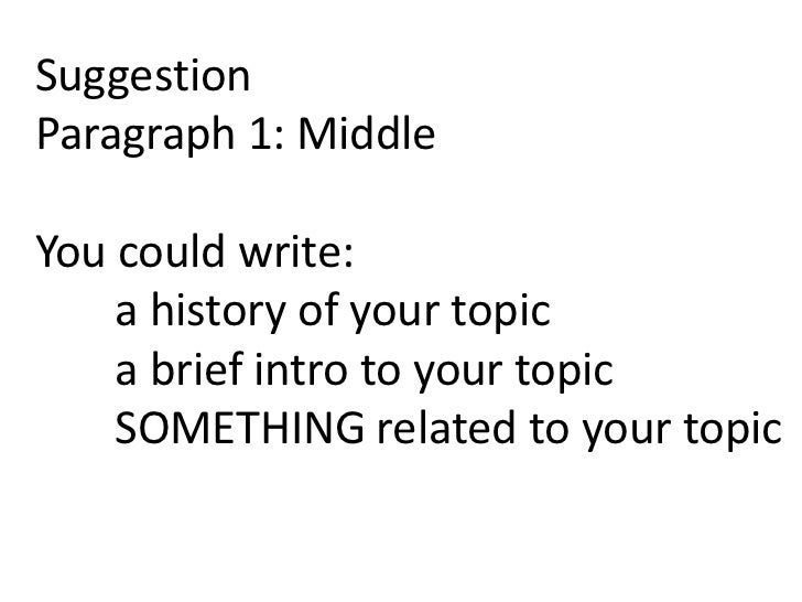 To what extent essay structure