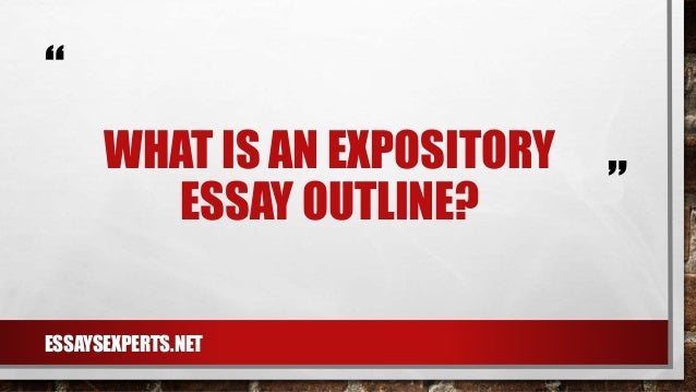 How to write an esay