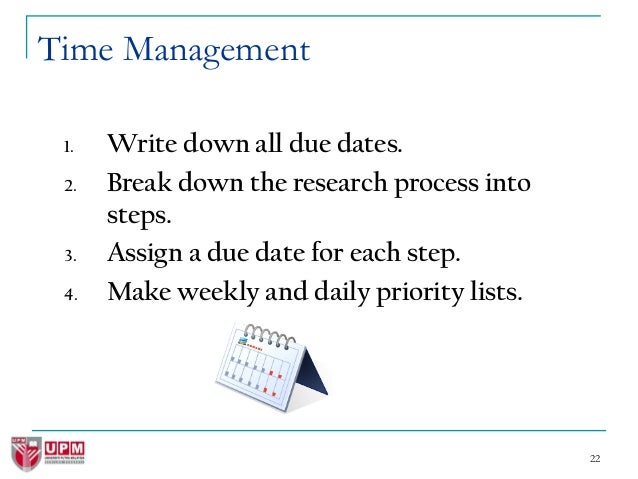 How to write an essay on time management