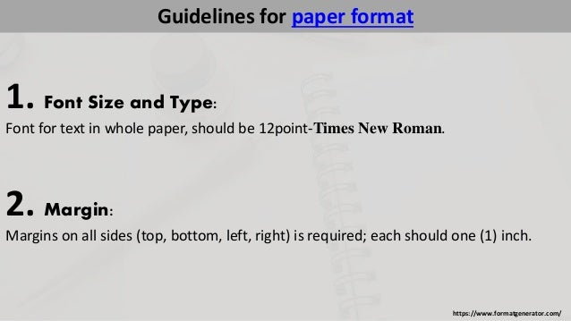 How to write in apa form