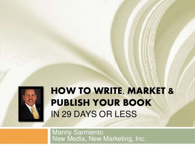 How to write a book in 28 days or less