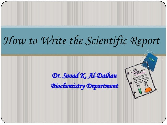 writing a scientific research paper ppt Form, language and style when reading research papers writing in a scientific style may basics of research paper writing and publishing 109.