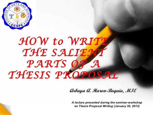 How To Write a PhD Research Proposal | PHD Research Proposal