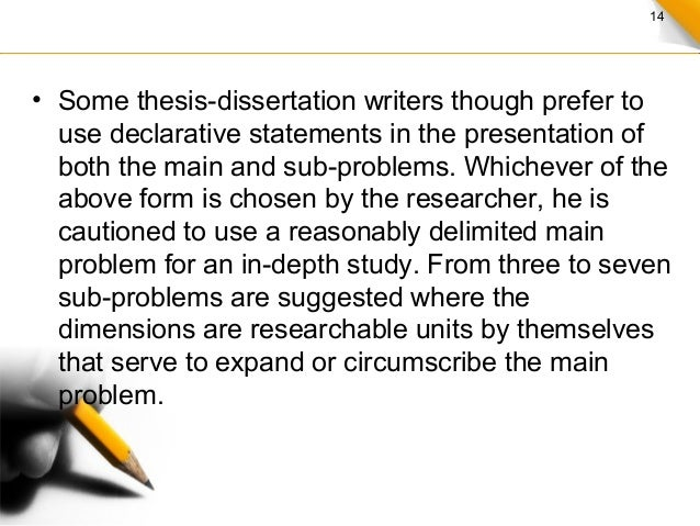 what is a good thesis statement for marriage