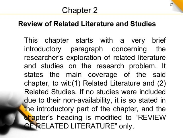 literature review phd dissertation
