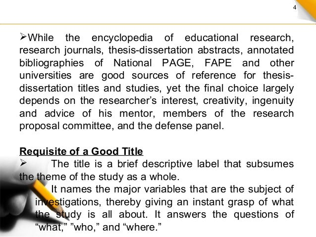 How To Make A Dissertation Proposal
