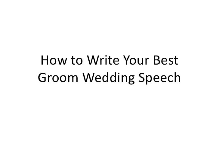 help me write a best man speech Writing a best man speech the pressure may be on, but this best man speech outline and tips will help you write a speech they'll remember forever.