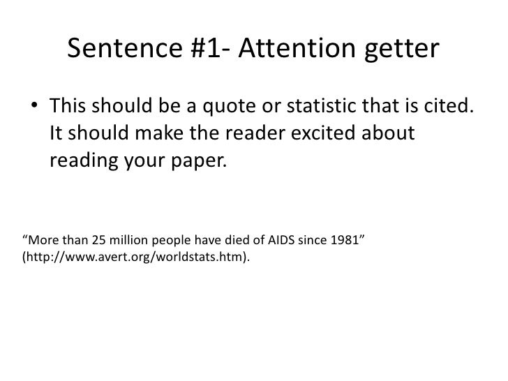start essay with quote example sentence