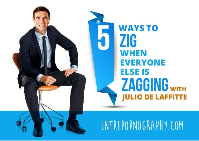 How to zig when others are zagging [CHEAT SHEET]