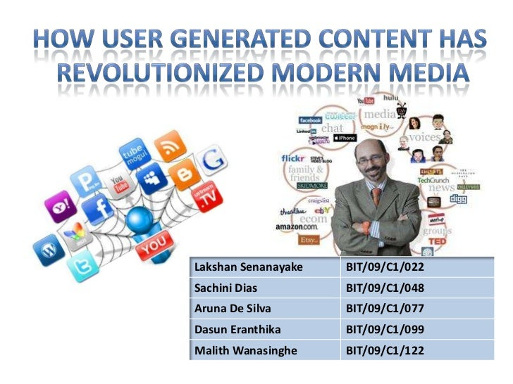 How user generated content has revolutionized modern media