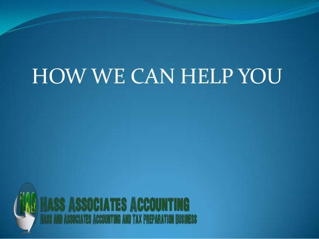 HASS ASSOCIATES ACCOUNTING