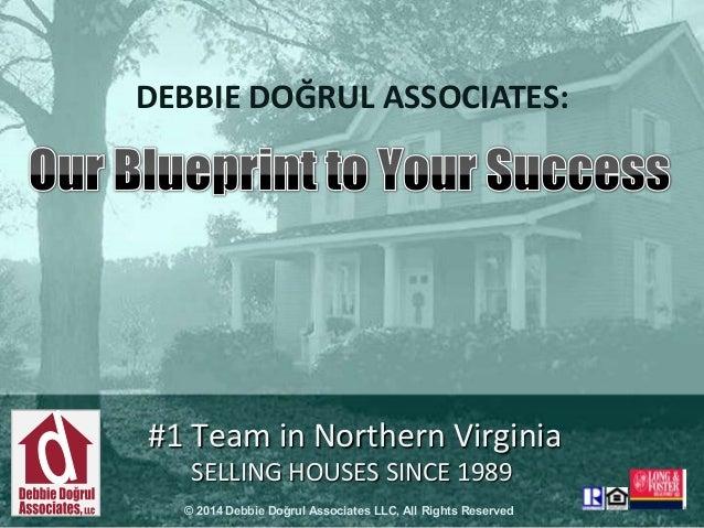 DEBBIE DOĞRUL ASSOCIATES:  #1 Team in Northern Virginia SELLING HOUSES SINCE 1989 © 2014 Debbie Doğrul Associates LLC, All...