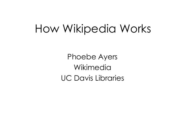How Wikipedia Works (2013)