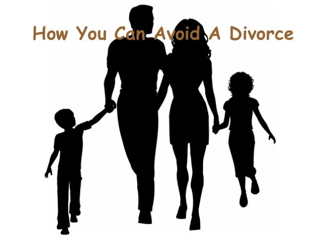 How You Can Avoid A Divorce