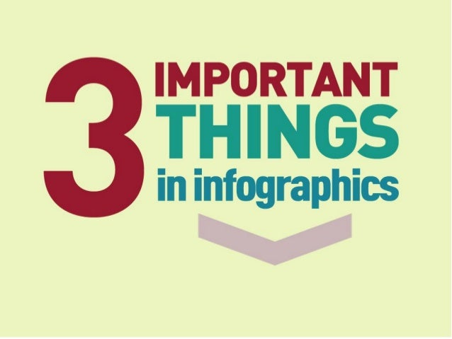 3 important things
