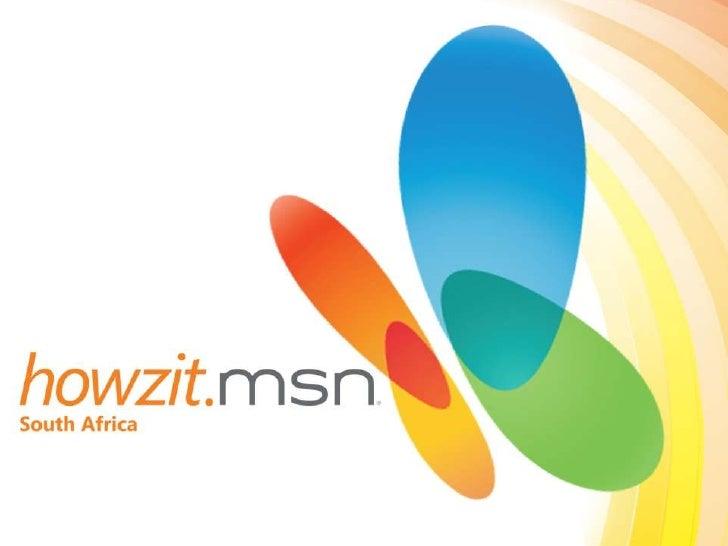 Howzit MSN  launch