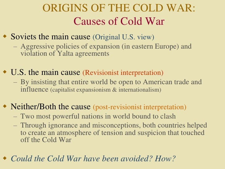 post revisionist cold war essay Social, political, economic, religious/ideas, military (post- revisionist)   rethinking the cold war history, 1997, john lewis gaddis (post- revisionist and  'new'.