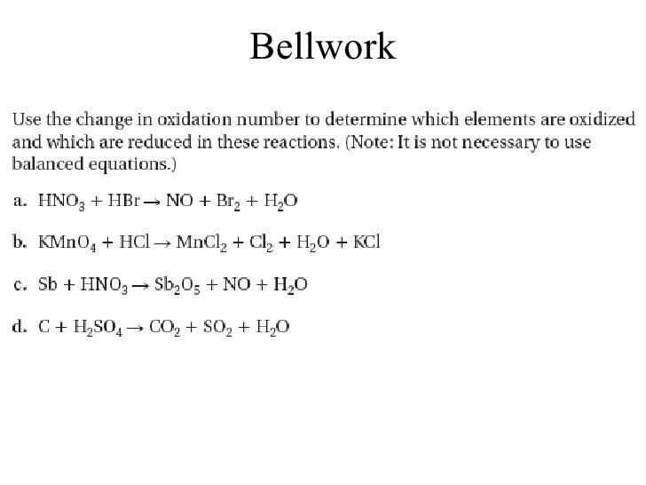 Lecture 20.3- Balancing Redox