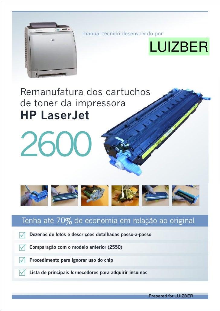 Hp 2600 técnico