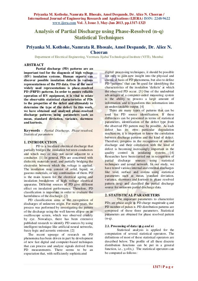 Priyanka M. Kothoke, Namrata R. Bhosale, Amol Despande, Dr. Alice N. Cheeran /International Journal of Engineering Researc...