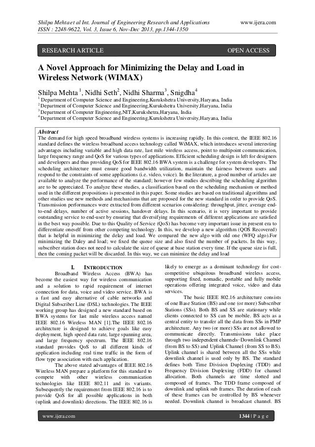 Shilpa Mehta et al Int. Journal of Engineering Research and Applications ISSN : 2248-9622, Vol. 3, Issue 6, Nov-Dec 2013, ...