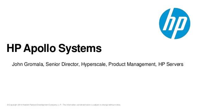 HP Apollo Slidecast