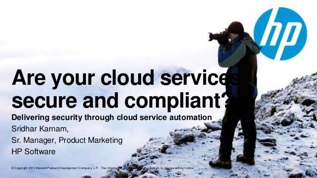 Are your Cloud Services Secure and Compliant today?